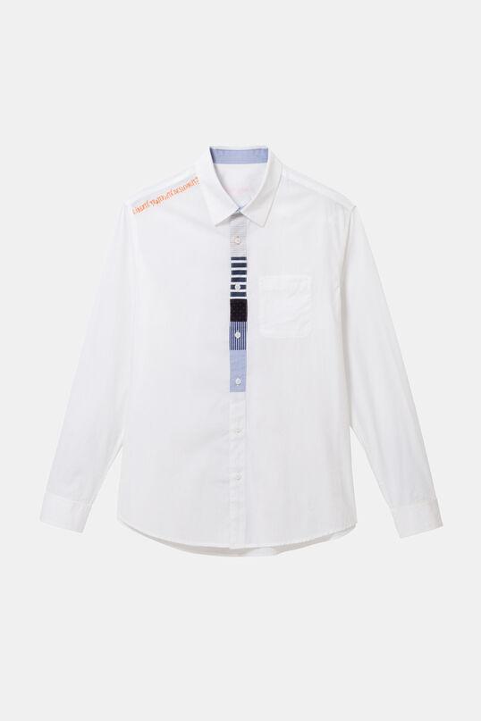 100% cotton slim shirt | Desigual