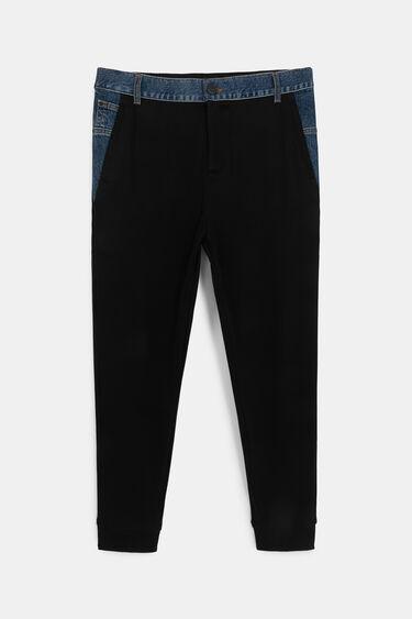 Pantalon jogger coton ouaté jean | Desigual