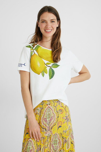 Lemons T-shirt 100% cotton