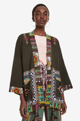Oriëntaalse kimonotrui Amandine