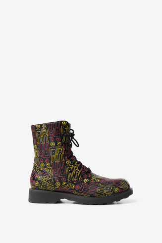 Desigual humans military boots