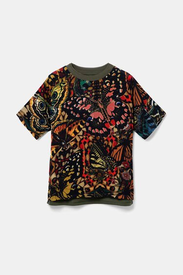 Cotton and viscose T-shirt | Desigual