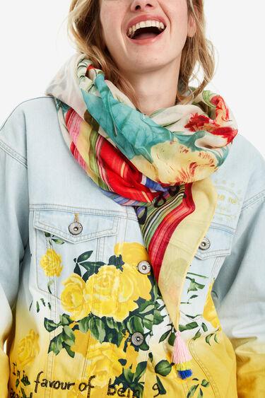Foulard print primaveral Clio | Desigual