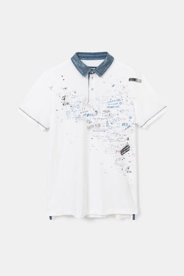 Polo shirt bolimania 100% cotton | Desigual