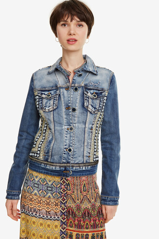 Regular-Jacke Hippie-Look Parlermo