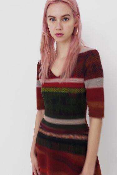 Boho striped dress | Desigual