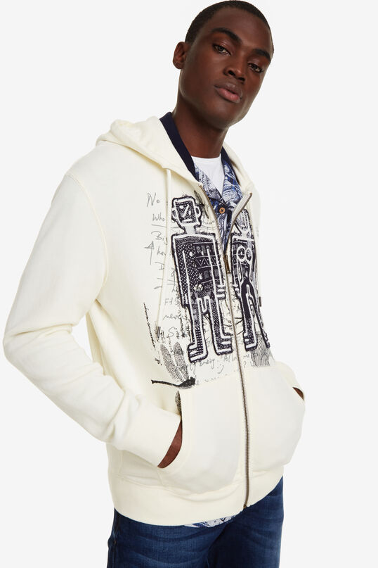 Hooded with patch Noe | Desigual