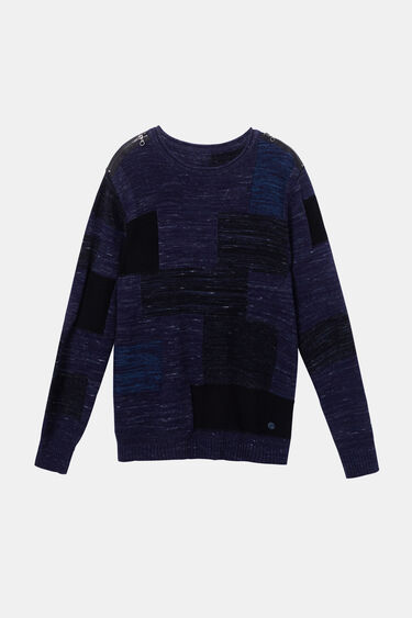 Long-sleeved knit sweater | Desigual