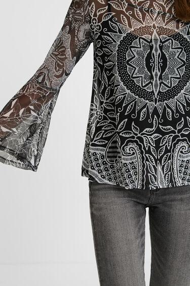 Camiseta avolantada mandalas | Desigual