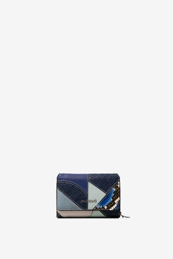 Moneder patch blau | Desigual