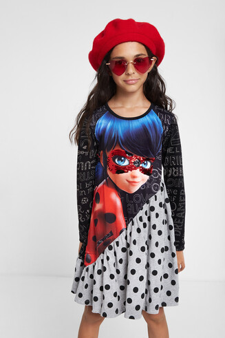 Ladybug fit 'n' flare dress