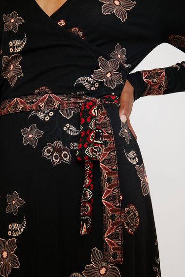 V-neck dress belt   Desigual