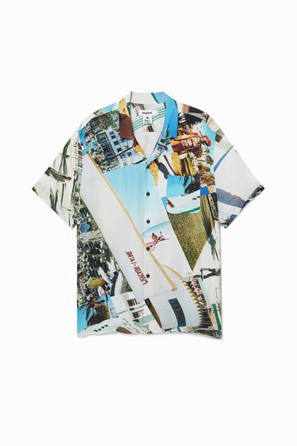 Unisex resort shirt South Beach
