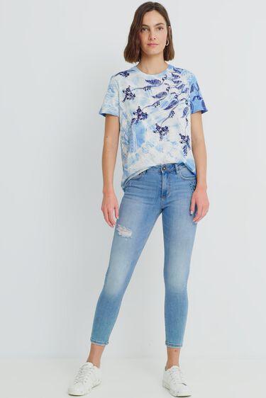 T-shirt regular imprimé | Desigual