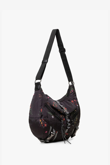 Floral snap hook bag | Desigual