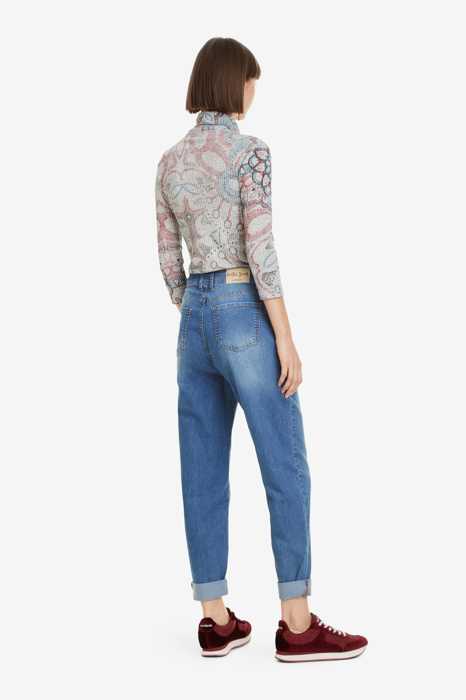 Montant Col T Fleuri Brooklyn Shirt 8XkN0wnOP