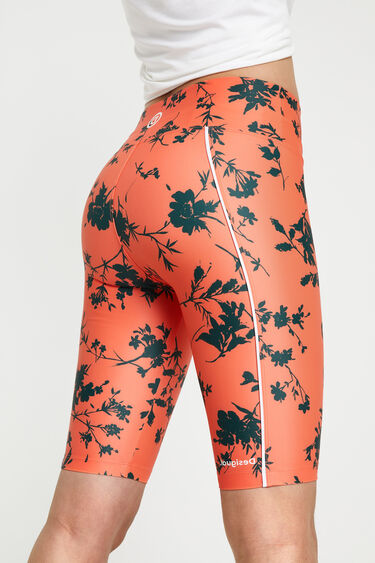 Leggings florais ciclistas | Desigual
