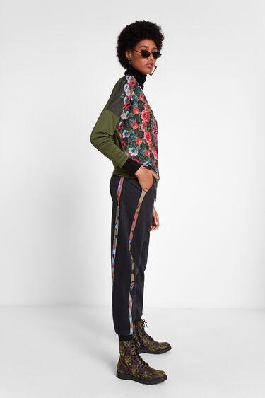 Long sleeve floral T-shirt   Desigual