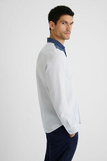 Camisa popelín reserva texana | Desigual