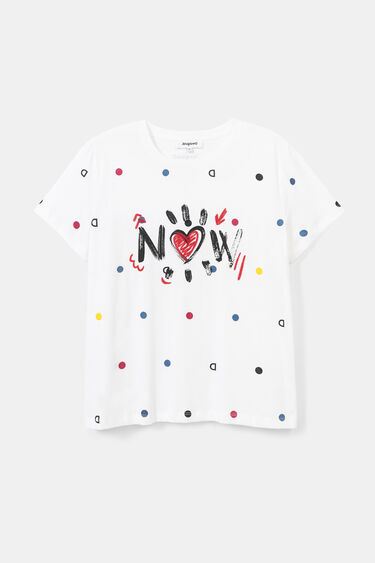 Camiseta manga corta topos | Desigual