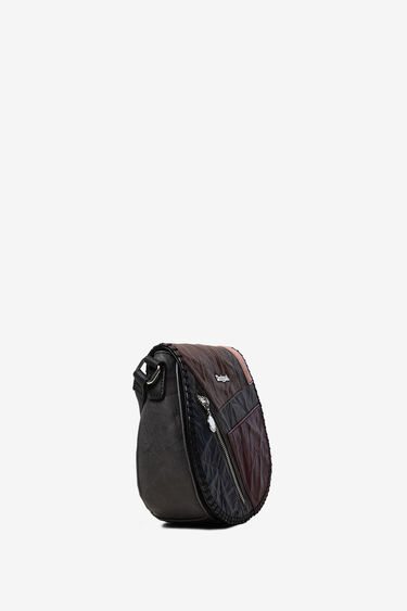 Sling bag with flap zipper | Desigual