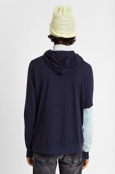 Camiseta híbrida capucha | Desigual