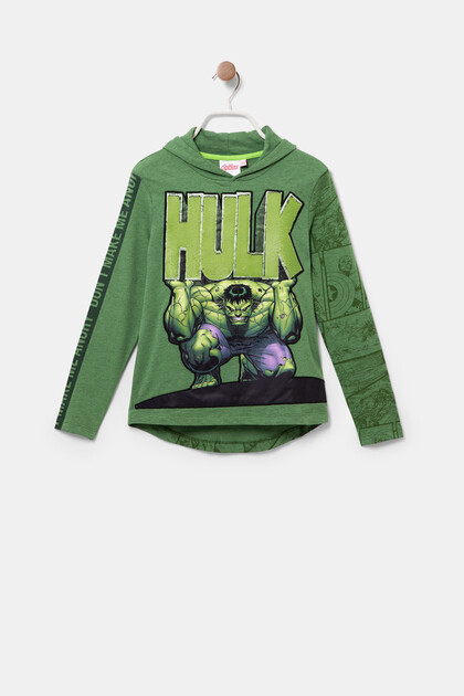 Hulk T-shirt reversible sequins