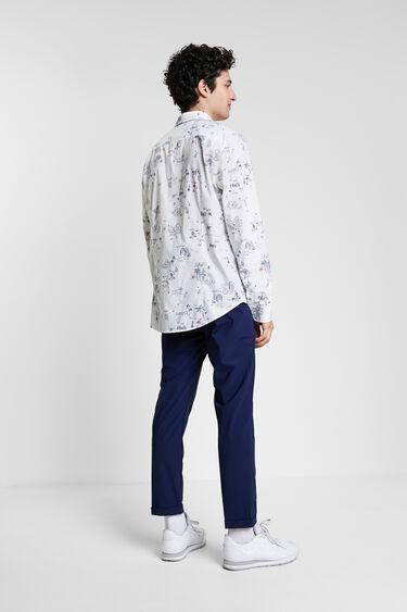 Shirt Hawaiian bolimania print | Desigual