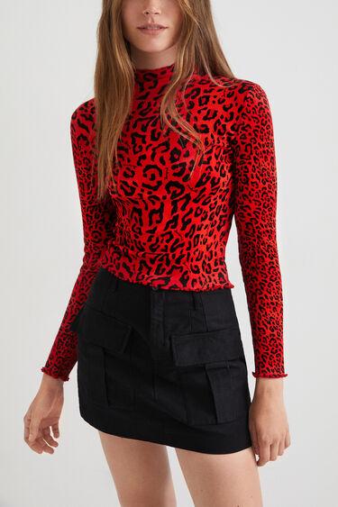 Slim-fit leopard T-shirt | Desigual