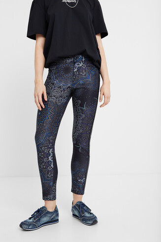Galactic skinny trousers