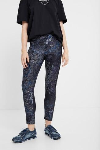 Galactic slim trousers