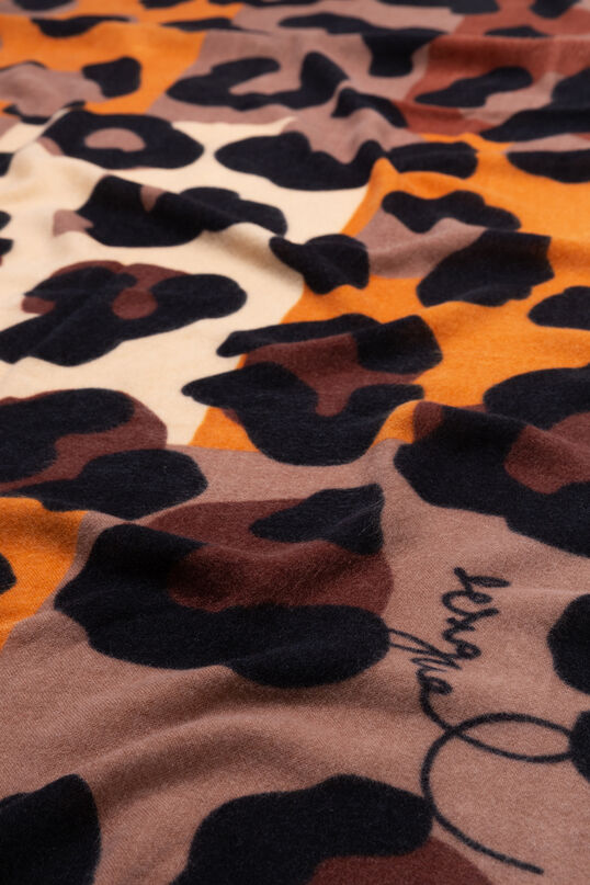 Foulard animal print multicolore | Desigual