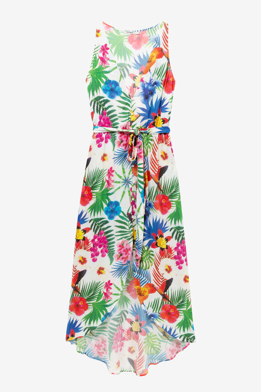 Tropical white dress Patrice | Desigual