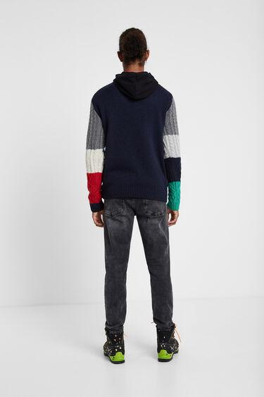 Jersei de tricot trenat | Desigual