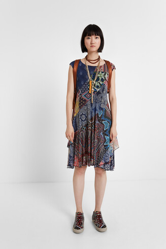 Patchwork Dress Rasha
