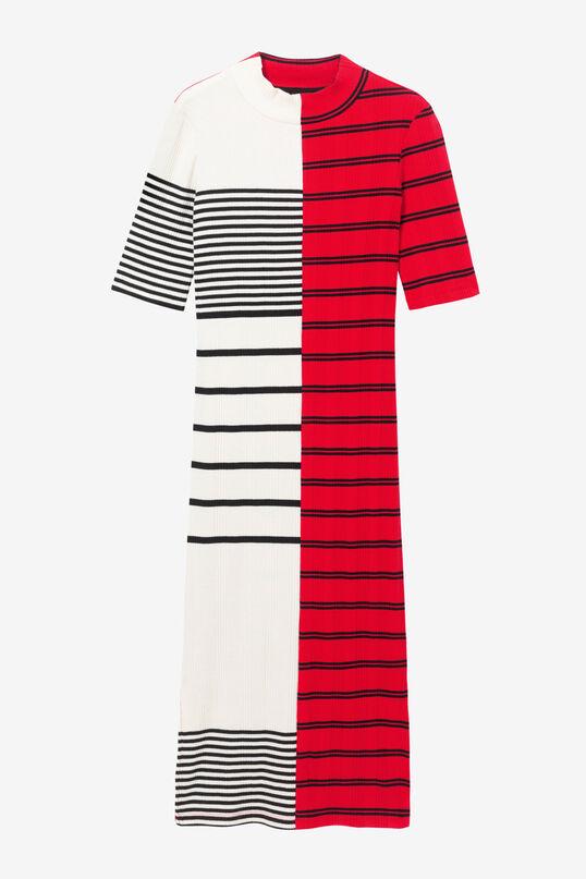 Striped T-shirt midi-dress | Desigual