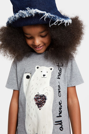 100% cotton eco-conscious T-shirt | Desigual