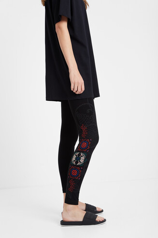 Legging print floral