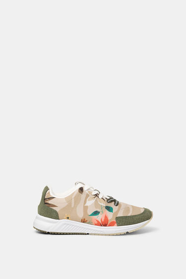 Running sneakers printed | Desigual