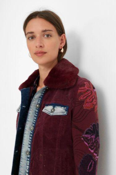 Fine corduroy jacket | Desigual