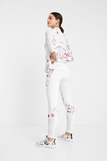 Floral print running jacket | Desigual