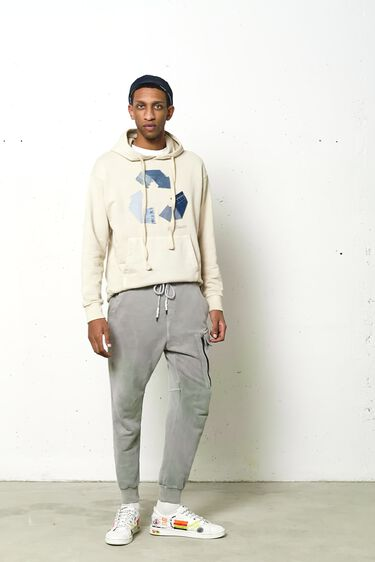 Recycled cotton sweatshirt | Desigual