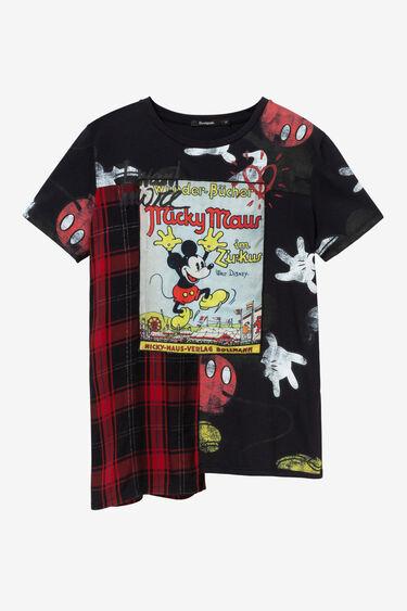 Mickey Mouse tartan T-shirt | Desigual