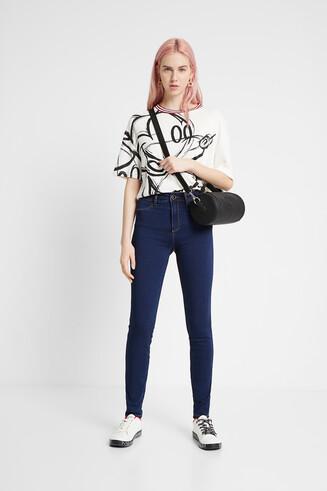 2nd skin denim trousers