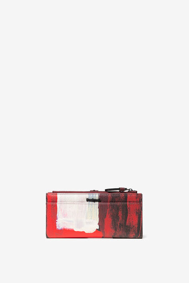Arty brush strokes purse | Desigual