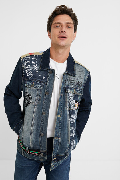 Denim jacket messages