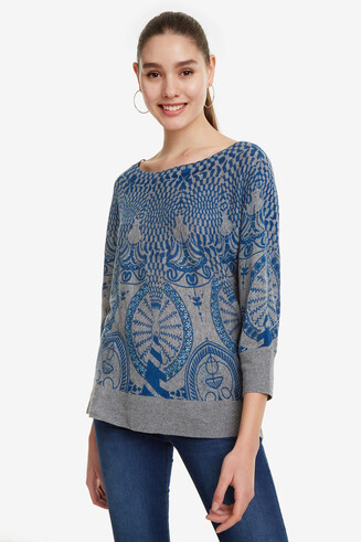 Batwing-Sleeves Jumper Lisburn