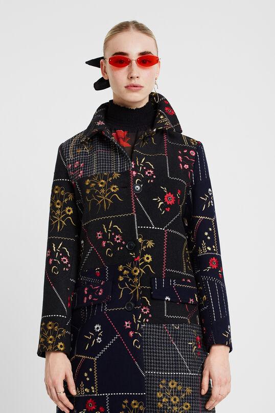 Abric patch floral   Desigual