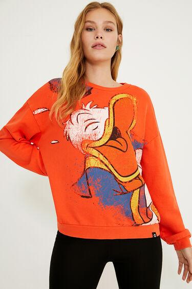 Donald Duck plush sweatshirt | Desigual