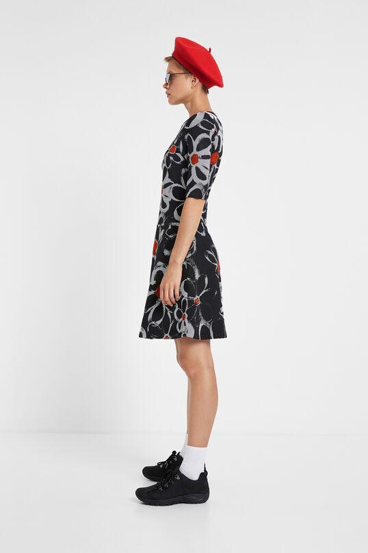 Flared floral dress | Desigual
